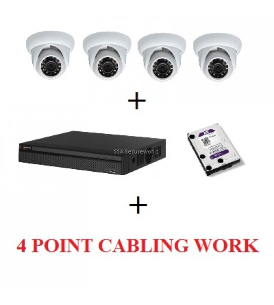 HD-CVI 4 CHANNEL PACKAGE - DVR